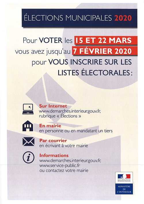 ELECTIONS MUNICIPALES  0